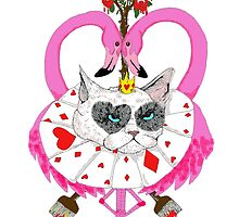 Cats of Wonderland (The Red Queen)  by ChatsbyVictoria