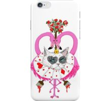 Cats of Wonderland (The Red Queen)  iPhone Case/Skin