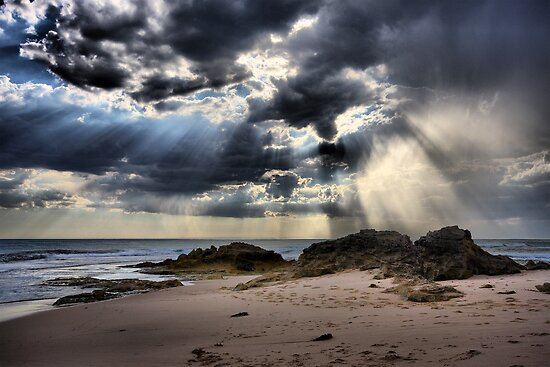 Tempest over the Ocean - Blairgowrie by Jim Worrall