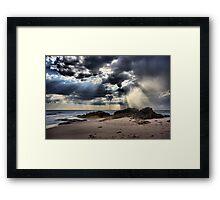 Tempest over the Ocean - Blairgowrie Framed Print