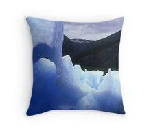 Iceberg, Alaska Throw Pillow