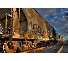 Down the Rail Photographic Print