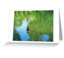 Duckie Greeting Card