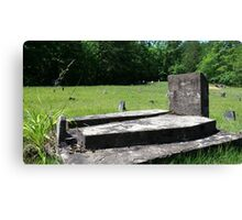 Death and Mortality Canvas Print