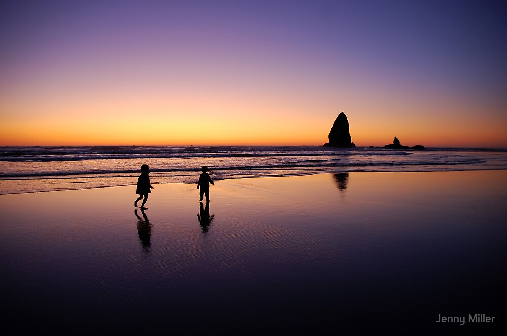 When the sun goes down the rock spirits play by Jenny Ryan