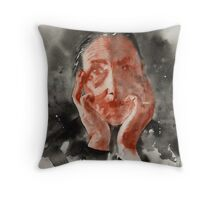 A Senhora Throw Pillow