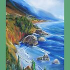 Big Sur At Fall Time by schiabor