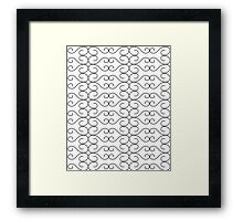 A cool Pattern Just for you !!! Framed Print