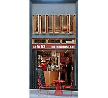 Cafe 53 Photographic Print