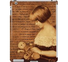 Girl with Doll iPad Case/Skin