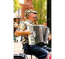 Street Musician - Portland Saturday Market Photographic Print