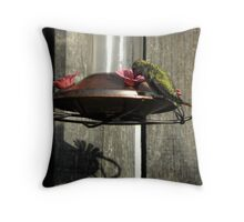 Sunset Sipping Throw Pillow