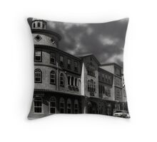 Weather In Windsor Throw Pillow