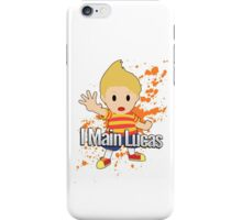I Main Lucas - Super Smash Bros. iPhone Case/Skin
