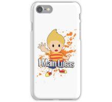 I Main Lucas - Super Smash Bros. iPhone Case/Skin