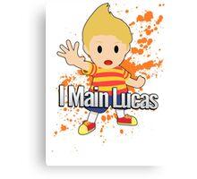 I Main Lucas - Super Smash Bros. Canvas Print