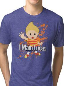I Main Lucas - Super Smash Bros. Tri-blend T-Shirt
