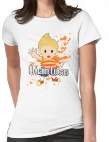 I Main Lucas - Super Smash Bros. Womens Fitted T-Shirt