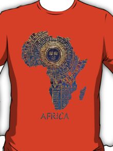 Africa map ancient T-Shirt