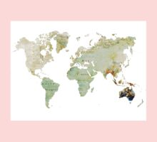 Map of the world 2 Kids Clothes