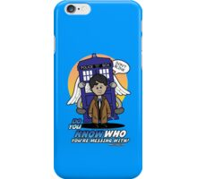 Don't Mess With The Doctor iPhone Case/Skin