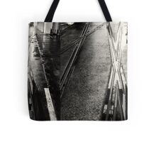 watching for steamers Tote Bag
