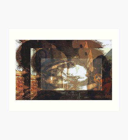 the da vinci code / tribute  Art Print