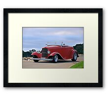 1932 Ford 'Classic Hot Rod' Roadster Framed Print