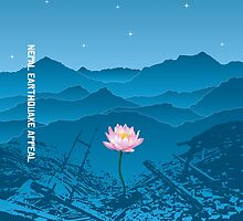 Nepal Earthquake Appeal - Travel Mugs by IcePie