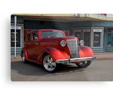 1939 Chevrolet Sedan 'Saturday Matinee' Metal Print