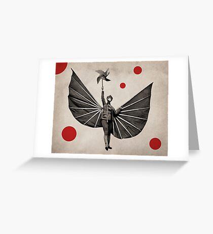 Anthropomorphic N°22 Greeting Card