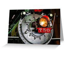 Engine 750 Greeting Card