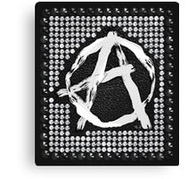 A for anarchy Canvas Print