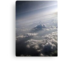 Little people of the stratosphere... Canvas Print