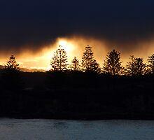 Sunshine through the storm by Joshdbaker