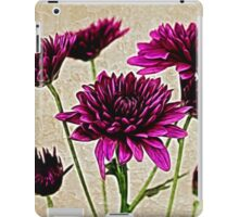 Painted Pink Bouquet iPad Case/Skin