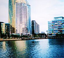 Melbourne, Docklands by saneill17