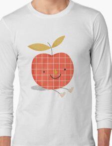 apple in love Long Sleeve T-Shirt