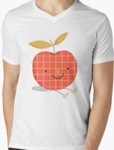 apple in love Mens V-Neck T-Shirt