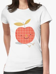 apple in love Womens Fitted T-Shirt