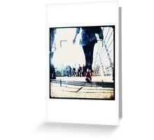 hungerford bridge (ttv) Greeting Card