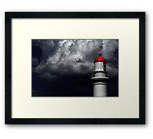 the Light House Framed Print