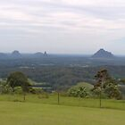 Glasshouse Mountains by Rebecca Cullen