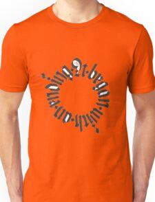 It began with an ending Unisex T-Shirt