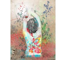 splattered (collaboration with Shelly Hiebert) Photographic Print