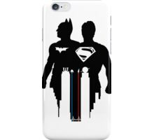Dawn of Justice (White) iPhone Case/Skin
