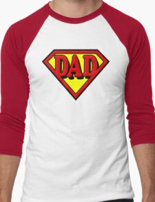 Super Dad Men's Baseball ¾ T-Shirt