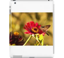 Moth on Red Daisies iPad Case/Skin