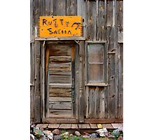 Rusty Saloon Photographic Print