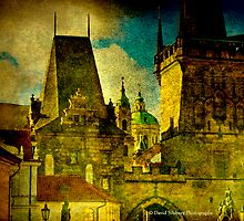 St. Nicholas Church - Looking from Mala Strana, Prague by David's Photoshop